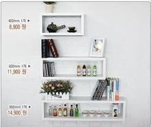 促销方形搁板置物架书架壁挂 创意搁板架可定做