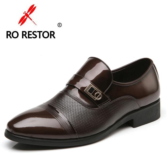 香港红蜻蜓男鞋正品真皮男士商务皮鞋男正装皮鞋透气英伦鞋