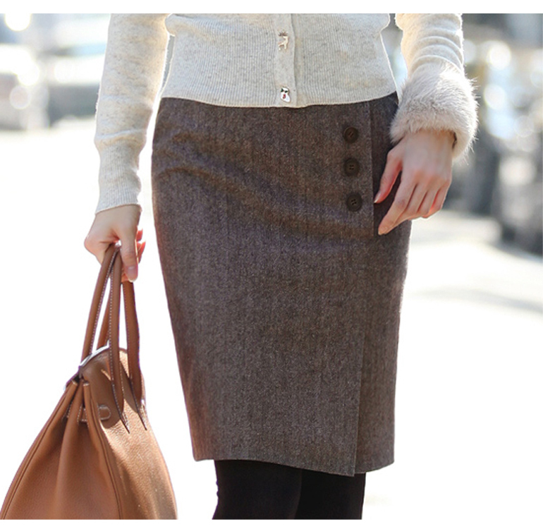 2013秋冬短裙韩版新款女装职业裙半身裙西装裙中裙打底裙子h-26