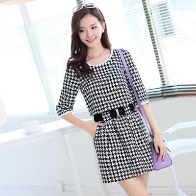 2015年春秋装最新款连衣裙今年最流行女装秋季秋款韩版20-30多岁