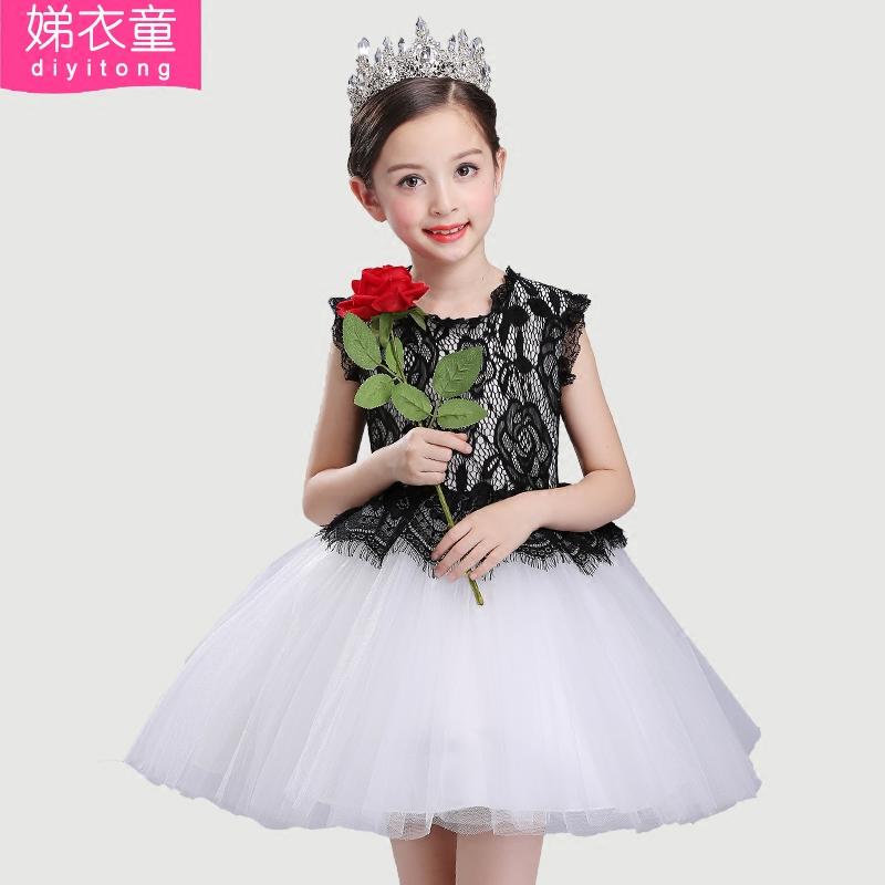 裙子公主女夏韓版連衣裙六一兒童節女童童裝蓬蓬