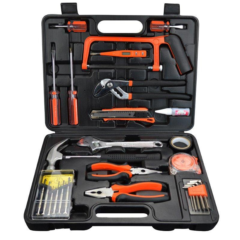 家用工具套装组合五金工具套装电动手动工具电钻打孔工具家装工具