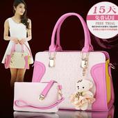 2016夏季新款韩版时尚女包单肩斜挎包女式包女士包包手提包大包潮