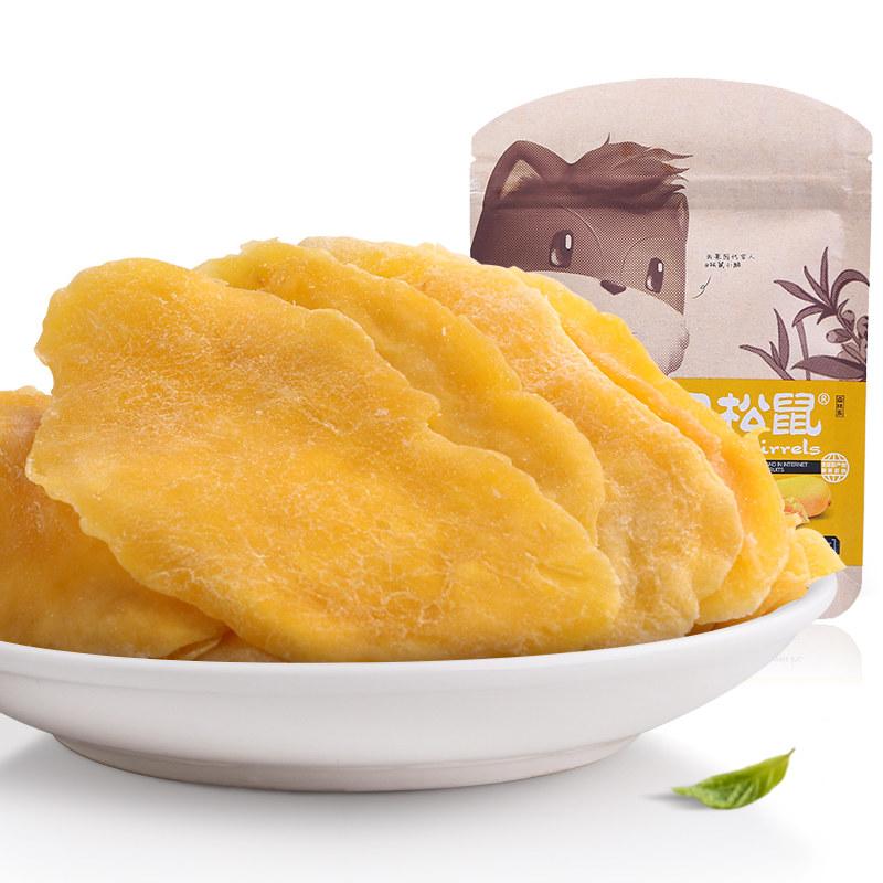 【天猫超市】三只松鼠 芒果干116g休闲零食小吃蜜饯果脯水果干