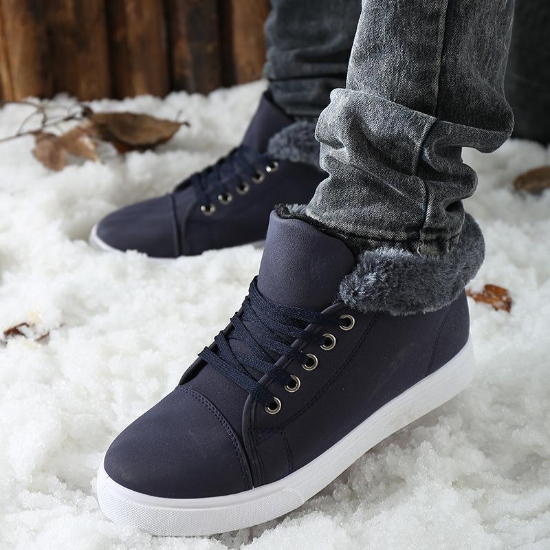 2015秋冬新款男士雪地靴 低筒经典款韩版男式棉鞋子 潮男必备短靴