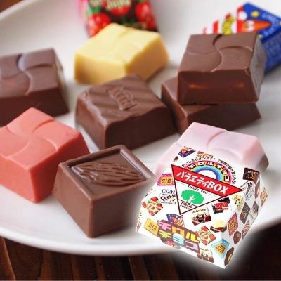 精美盒装 巧克力多彩缤纷 日本进口