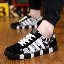 2015夏季布鞋男士潮鞋休闲鞋帆布鞋男鞋韩版潮流板鞋秋季学生鞋子