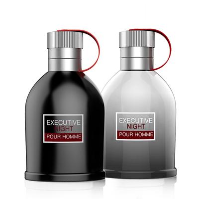 [2瓶组合装] 【2瓶装】健美创研 男士古龙香水100ml清新持久淡香 送香水小样
