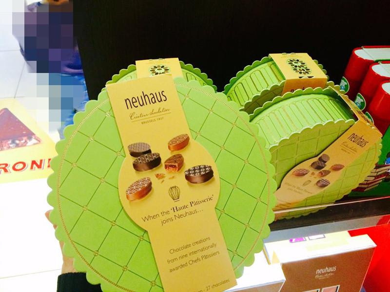 进口零食 比利时巧克力Neuhaus诺豪斯 双层豪华礼盒 节日送礼代购