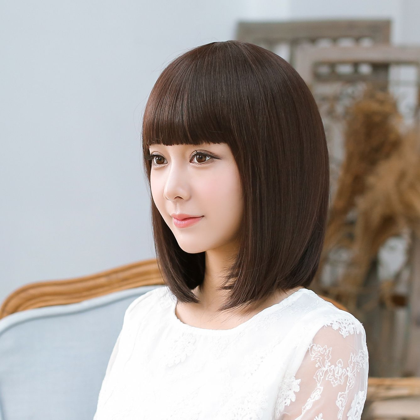 正品[假发短发女修脸]女假发短发评测 假发 短发