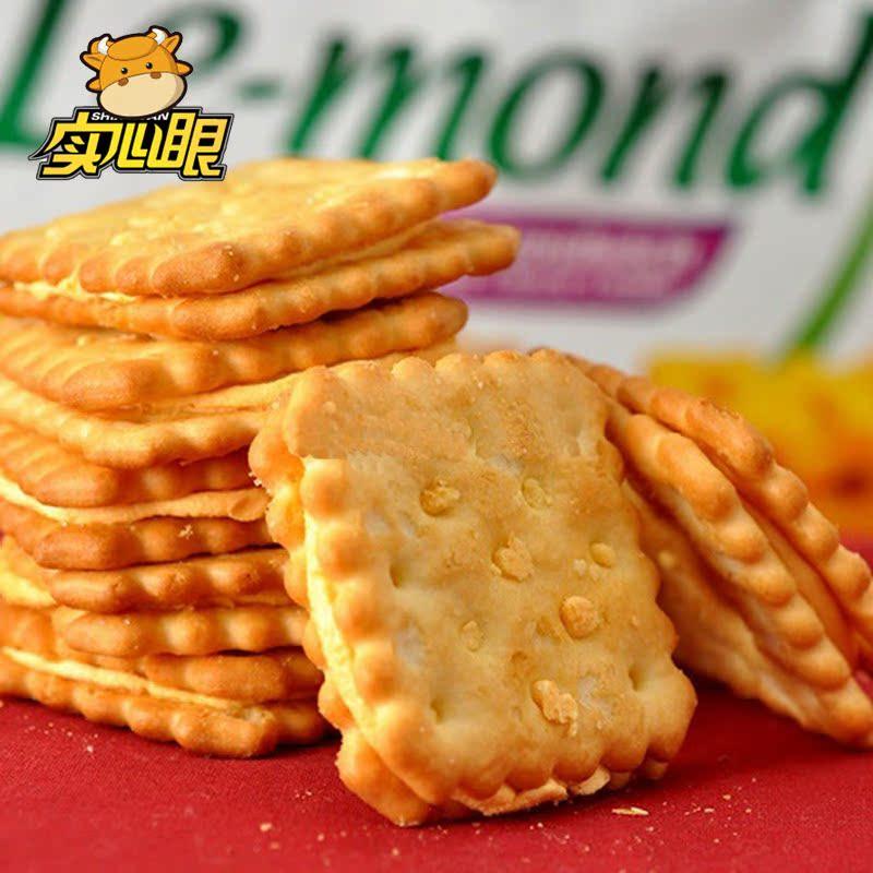 马来西亚进口 茱蒂丝/茱莉Julies雷蒙德乳酪起芝士夹心饼干 180g