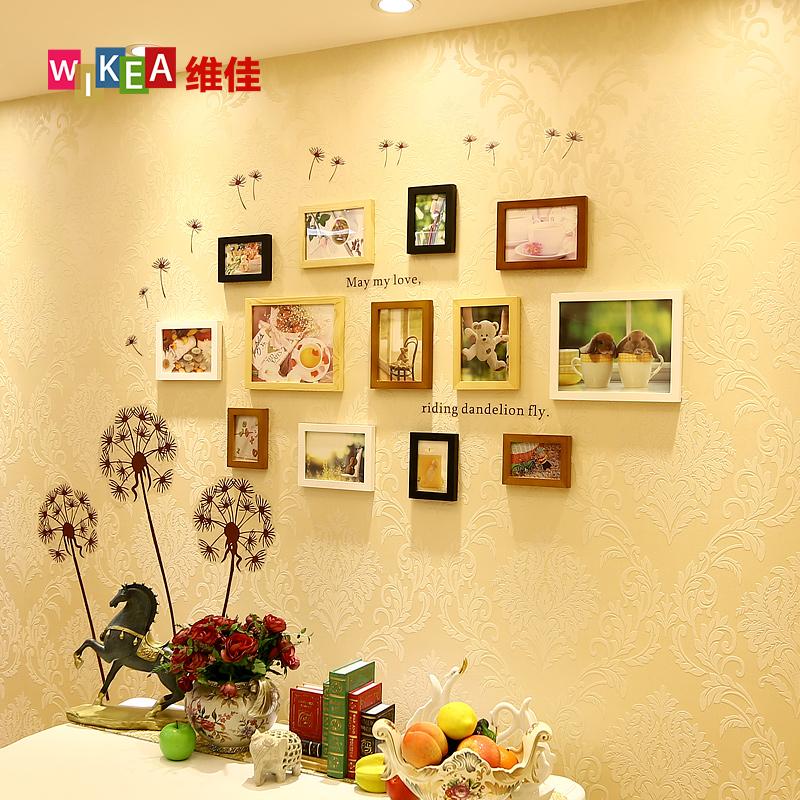 墙壁装饰照片墙 挂墙相框创意组合相框墙餐厅墙
