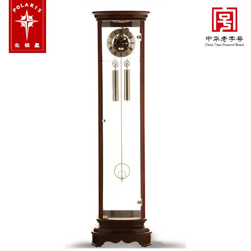北极星落地钟 高档实木欧式时尚简约现代客厅立钟