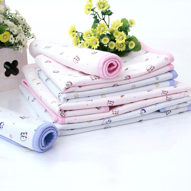 牵手娃超大婴儿隔尿垫新生儿宝宝竹纤维防水透气可洗尿布垫DY1711