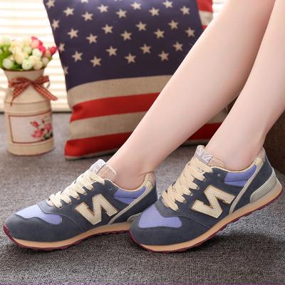 [年终大促] 潮蹬韩版n字鞋女鞋秋冬棉鞋学生运动鞋女士休闲鞋平底跑步鞋板鞋