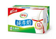 【天猫超市】伊利牛奶 无菌砖纯牛奶250ml*16/箱甄选黄金奶源