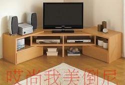 热卖人造板白色电视机柜实木组合简约特价柜类胡桃木视听柜住宅