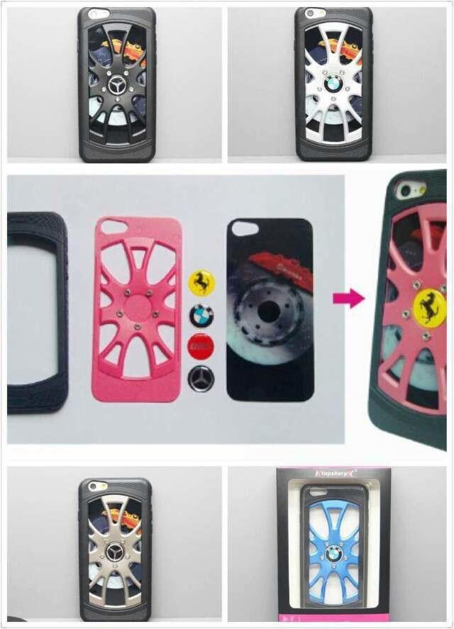 新款苹果6硅胶壳iPhone6代4.7车轮手机壳保护套防摔外壳包邮韩版