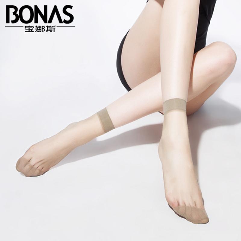 丝袜双装宝娜斯水晶防勾丝袜子透明夏季