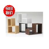 木质落地组合柜格子柜L型柜装饰柜搭配柜置物柜储物收纳柜书柜架