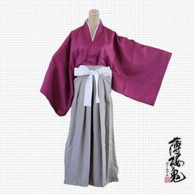薄樱鬼cosplay衣服 土方岁三cos套装 日本和服 优质现货