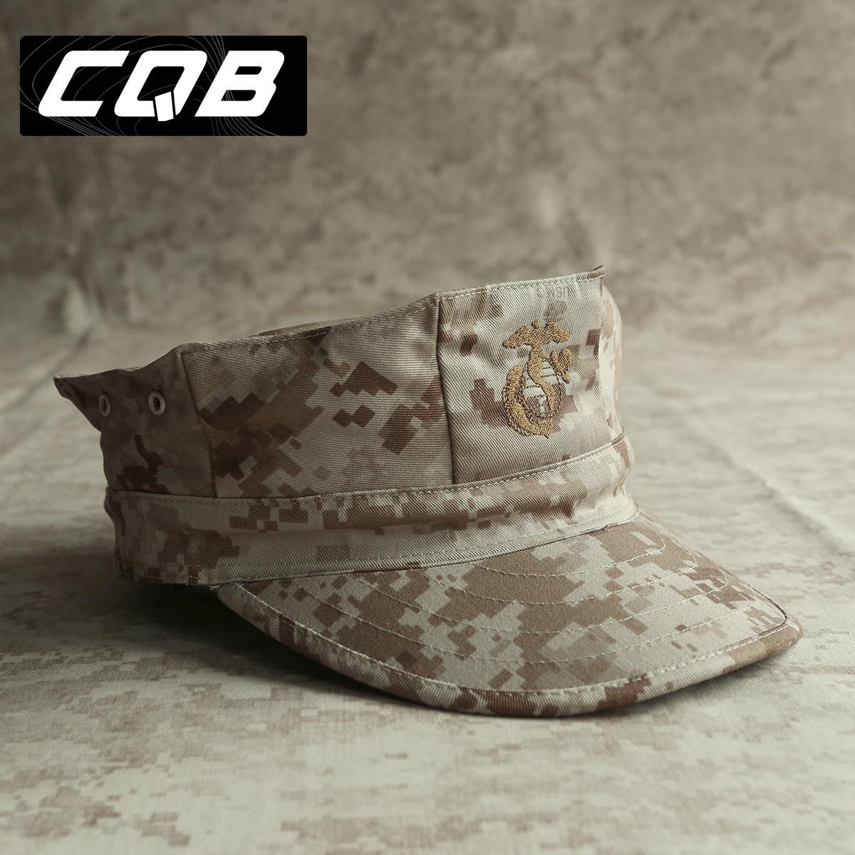 CQB 陆战队八角帽 迷彩帽  男 战术帽 丛林 沙数 遮阳帽子