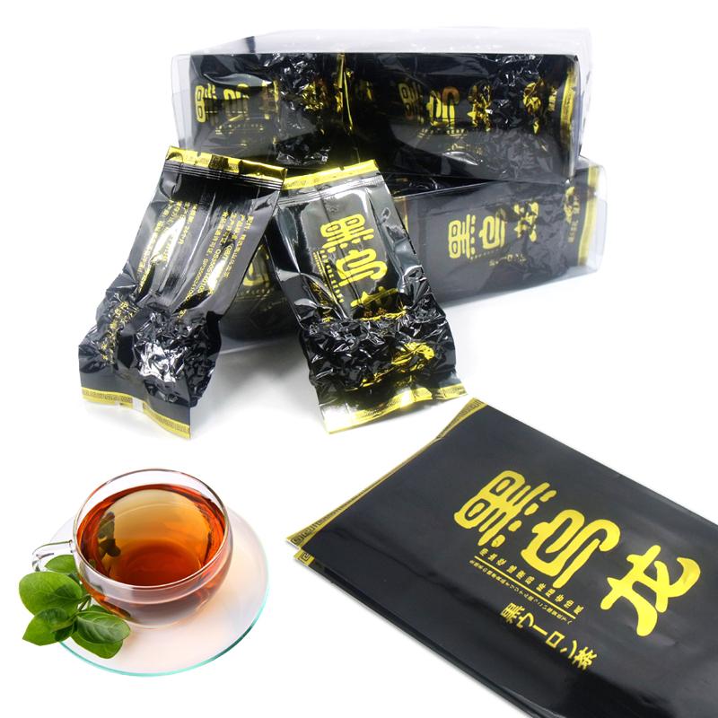 正品乌龙茶富含高浓度茶多酚 油切黑乌龙茶 味来轩黑乌龙茶叶包邮