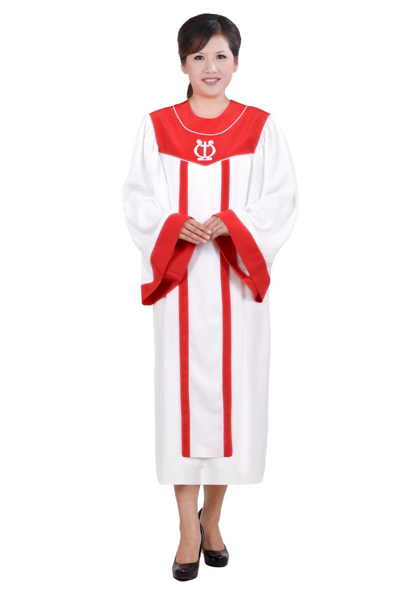 以弗得教会基督教服装唱诗服圣袍圣衣圣诗服诗班服诗袍SSF001C