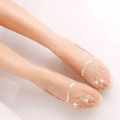 鞋子女夏天平底凉鞋透气网鞋防滑豆豆鞋女式孕妇平跟软底舒适女鞋