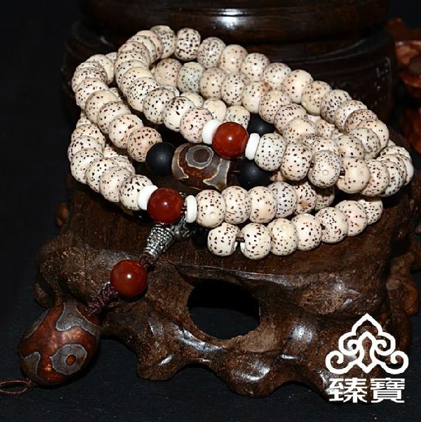 干磨星月菩提子正月手链|颗颗正月手串|男女款饰品108颗佛珠
