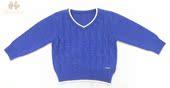 香港品牌2014秋冬新款童装 中童男童百搭针织套头毛衣