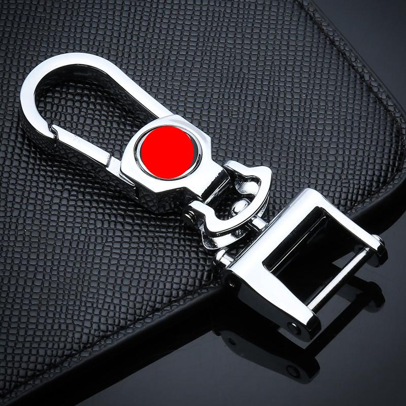 汽车车标钥匙扣金属适用宝马奔驰大众别克丰田科鲁兹男士女可定制