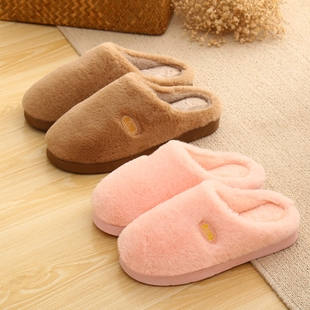 天天特价棉拖鞋女冬季居家包跟加厚保暖防滑家居男士棉拖鞋月子鞋