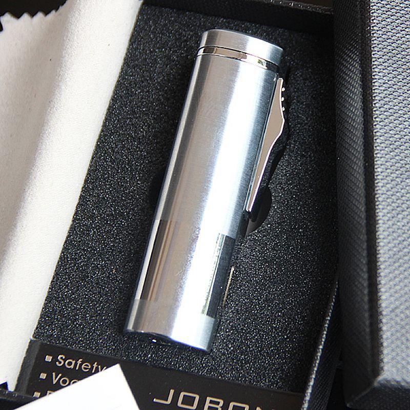 Jobon三火直冲充气打火机防风金属外壳男创意礼品 正品中邦烟具