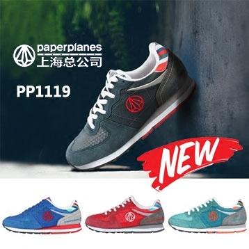 韩国运动鞋paperplanes纸飞机网面透气运动鞋慢跑鞋