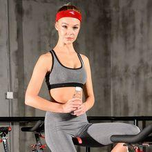 361度瑜伽服健身服女上衣跑步运动文胸背心高强度防震聚拢无钢圈
