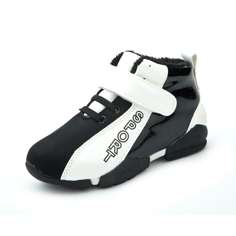 童鞋男童运动鞋2014秋冬新款儿童运动鞋男童棉鞋加绒冬鞋宝宝保暖