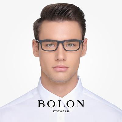 暴龙眼镜框架男女中性款光学架方形情侣镜框板材眼镜架 BJ1207