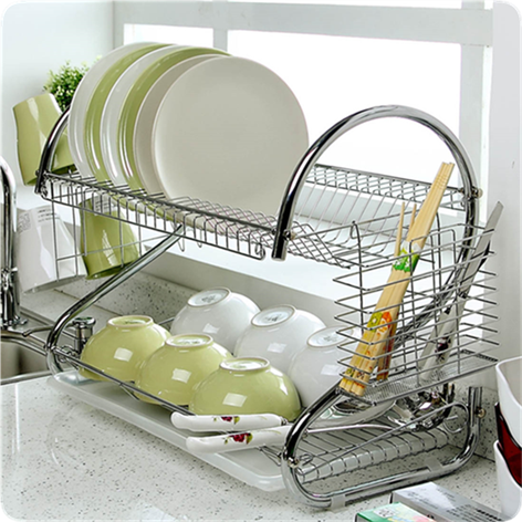 家庭厨房实用工具日常家居生活日用品百货小商品碗架 其它杂货