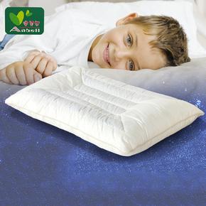 夏凉决明子定型宝宝0-1-3-6-15岁 防偏头婴儿枕头 儿童学生枕芯套