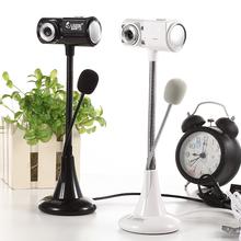 高清免驱主播摄像头台式电脑视频 笔记本带麦克风话筒夜视 T18