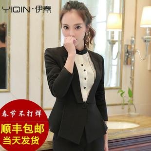 春季西服套装女OL职业装女装职业套装气质面试女士正装西装工作服