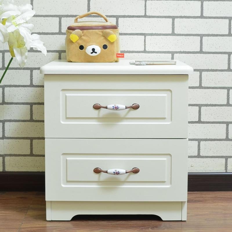 欧式床头柜宜家简约美式床边柜简易韩式床尾柜储物柜