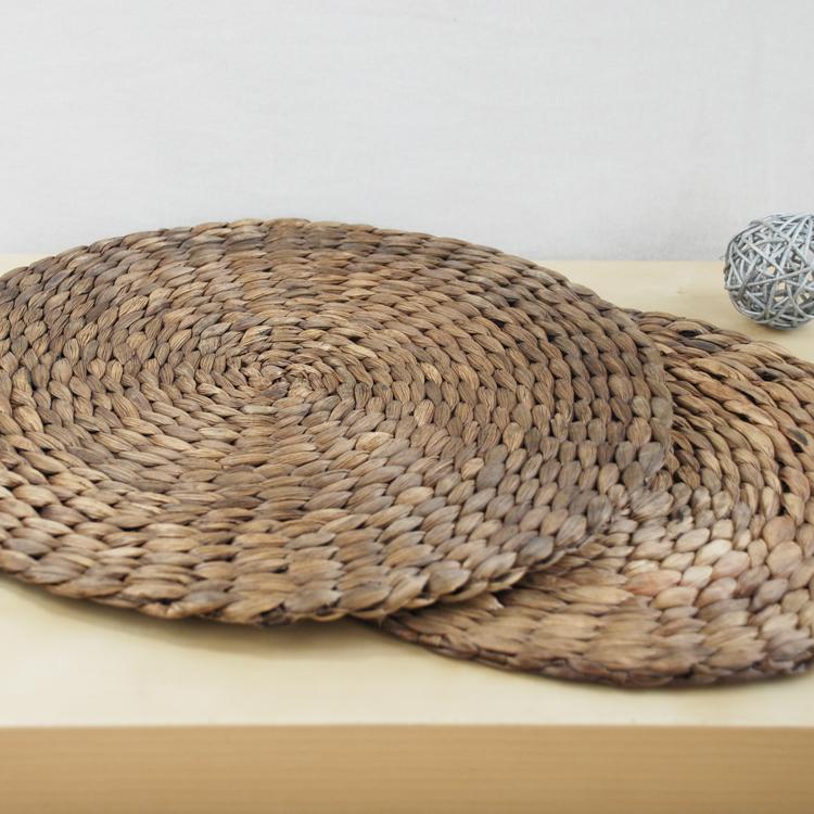 KENS 草编欧式隔热垫 草垫子 西餐防滑垫 杯垫 碗垫 盘垫 餐垫