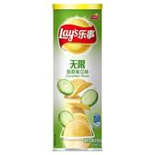 【天猫超市】Lay's/乐事薯片无限翡翠黄瓜味104g  办公休闲零食