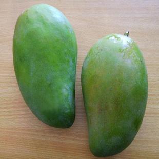 新鲜水果泰国婆罗米亚芒果 青皮芒果 胜金煌芒 6斤装 顺丰包邮
