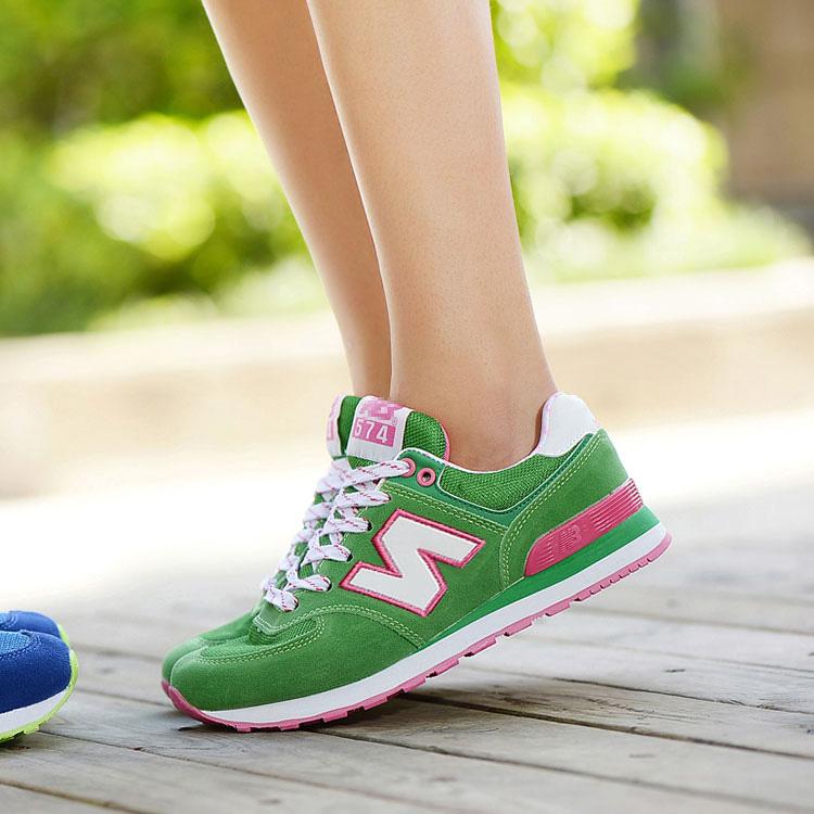 夏季单鞋平底运动鞋n字鞋女春学生鞋休闲女鞋韩版跑步鞋