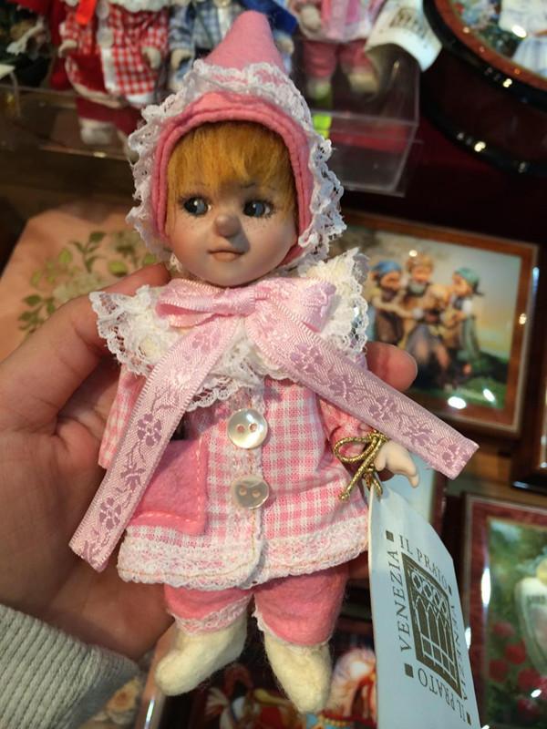 代购 意大利威尼斯旅游纪念品 陶瓷布娃娃 匹诺曹缘分天使 包邮
