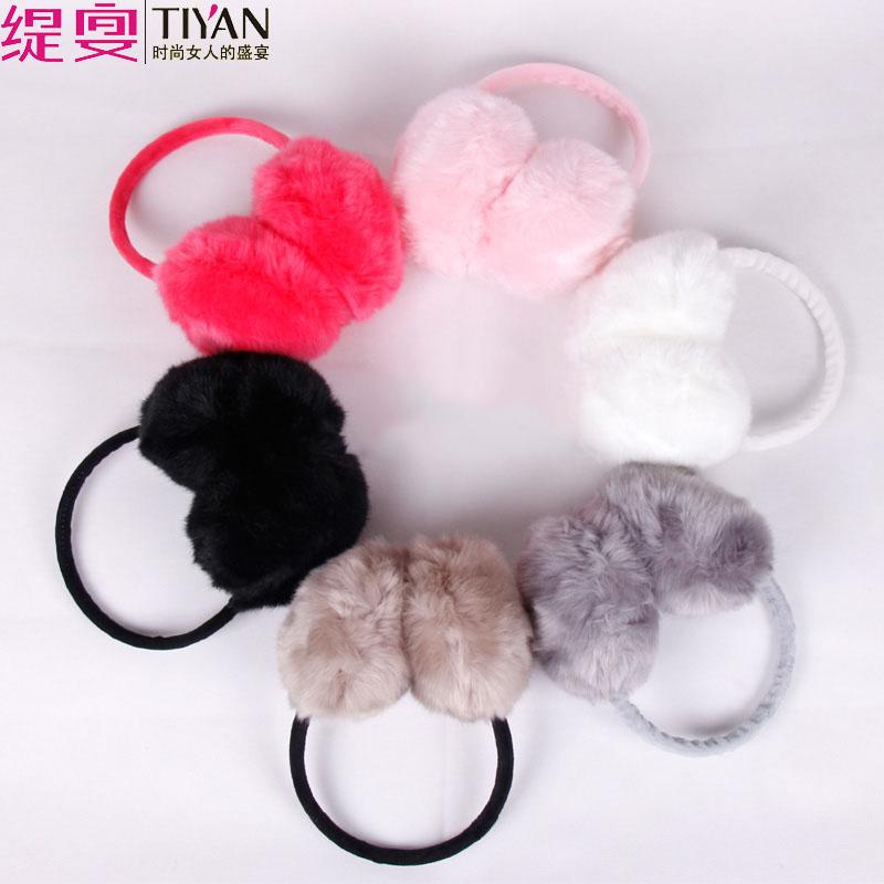 护耳罩保暖女生耳罩冬季女韩版可爱毛绒耳套男冬天大兔毛耳捂耳包