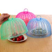 满包邮防虫菜罩饭罩圆形盖菜罩子厨房防蝇食物罩塑料餐桌罩饭菜罩